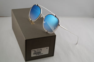 Dita Talon Two Aviator Sunglasses in Silver