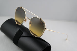 Dita Talon Two Aviator Sunglasses in Gold Gradient
