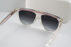 Marc Jacobs 321S Flat Top Clear Sunglasses