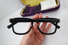 Load image into Gallery viewer, Gucci 0453O Thick Rim Square Unisex Eyeglasses Frames in Black