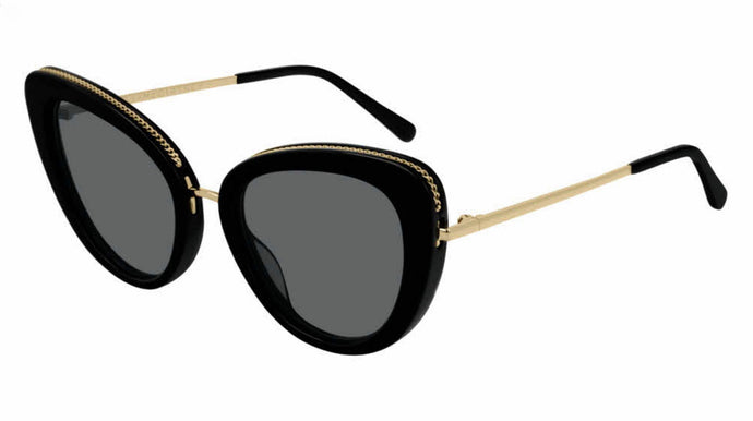 Stella McCartney SC0189S Black Cat Eye Sunglasses