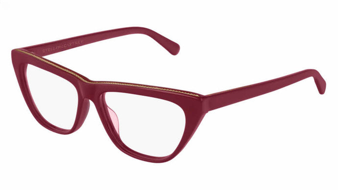 Stella McCartney SC0191O Red Cat Eye Eyeglasses Frames