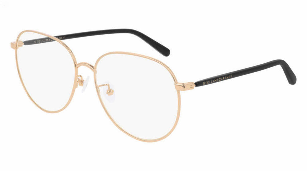 Stella McCartney SC0218O Rose Gold Metal Round Eyeglasses Frames