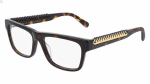 Stella McCartney SC0222O Brown Square Chain Eyeglasses Frames