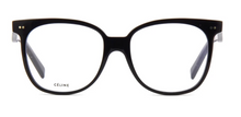 Load image into Gallery viewer, Celine CL50010I Black Oversized Eyeglasses Frames