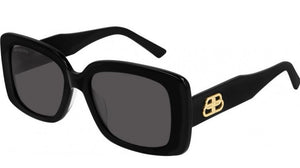 Balenciaga BB0048S Logo Sunglasses in Black