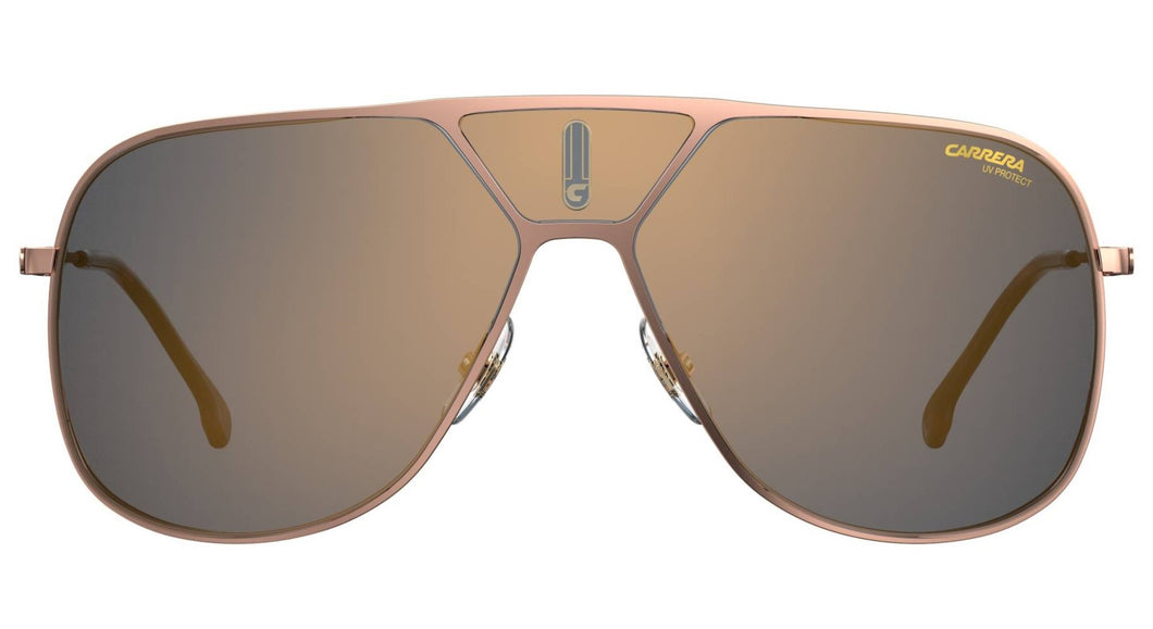 Carrera LENS3S Shield Sunglasses in Bronze