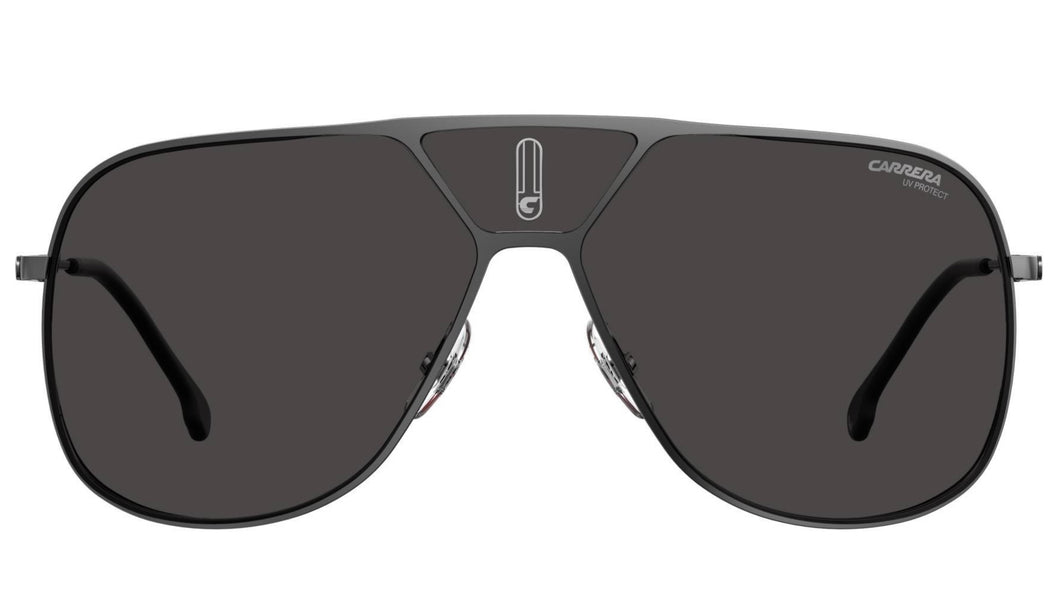 Carrera LENS3S Shield Sunglasses in Dark Ruthenium