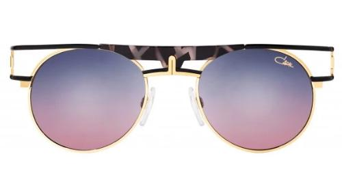 Cazal Legends 989 Round Obsidian Sunglasses