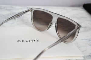 Celine 41435 Thin Shadow Sunglasses in Clear