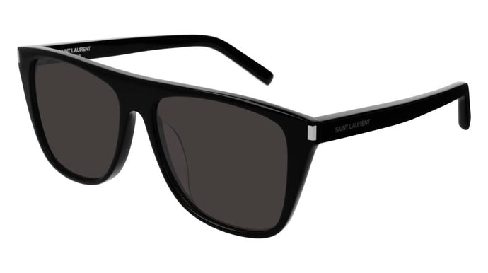 Saint Laurent SL1/F Black Sunglasses