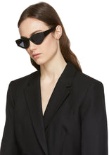 Load image into Gallery viewer, Dior CatStyleDior1 Cat Eye Sunglasses in Black