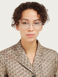 Dior StellaireO 8 Eyeglasses Frames in Copper Gold Metal