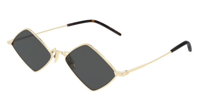 Saint Laurent SL302 Lisa Sunglasses in Gold