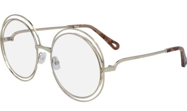 Chloe 2152 Carlina Round Bluelight Eyeglasses Frames