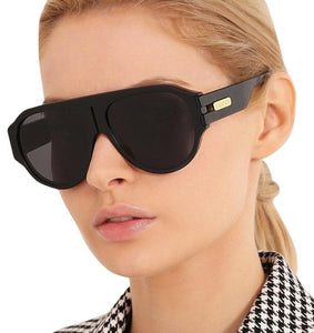 Gucci 0665S Black Aviator Sunglasses
