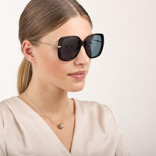 Load image into Gallery viewer, Gucci 0511S Square Metal Leg Oversized Havana Brown Sunglasses