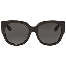 Load image into Gallery viewer, Gucci 0142SA Rounded Square Black Logo Sunglasses