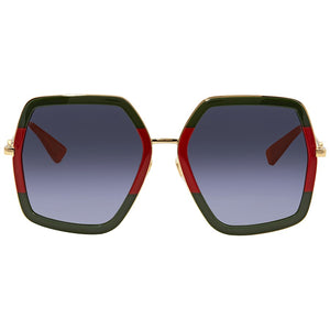 Gucci 0106S Oversized Geometric Sunglasses
