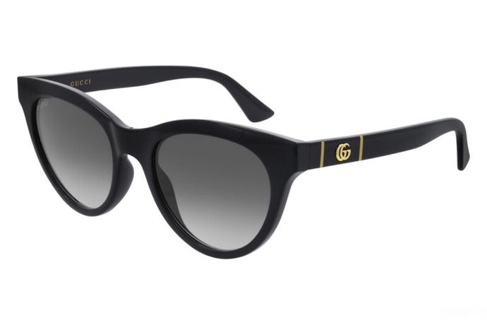 Gucci GG0763S Marmont Cat Eye Sunglasses in Black