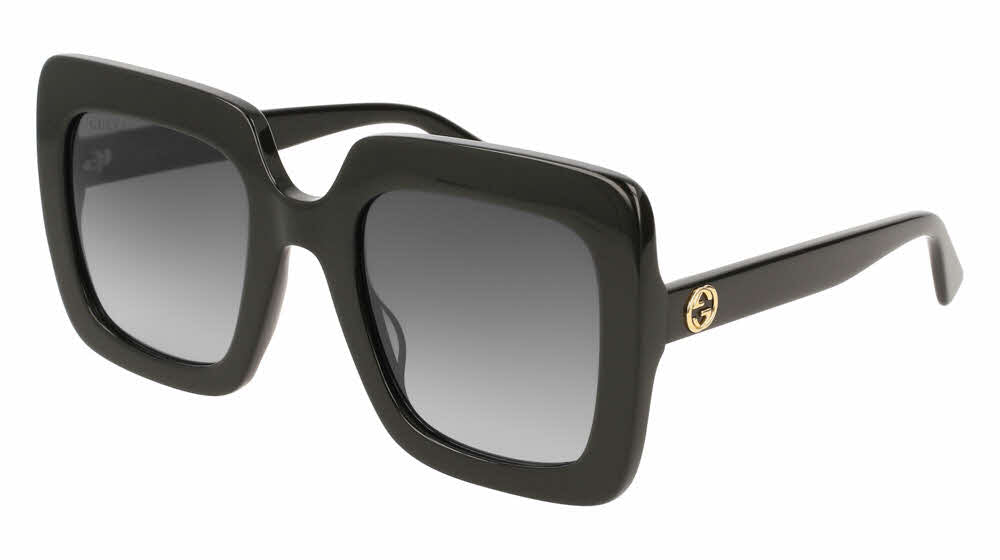 Gucci 0328S Oversized Black Square Sunglasses