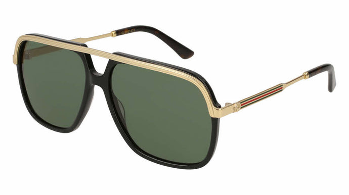 Gucci 0200S Aviator Sunglasses in Black