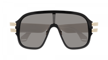 Load image into Gallery viewer, Gucci GG0663S Black Shield Sunglasses