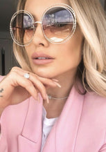 Load image into Gallery viewer, Chloe CE114ST Carlina Twist Sunglasses in Pink Gradient