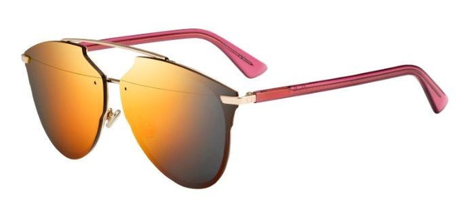Dior Reflected Prism Sunglasses in Red Mirror