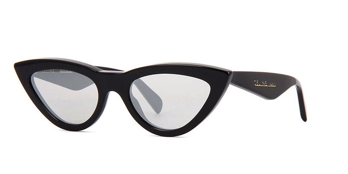 Celine CL40019I Black Cat Eye Sunglasses