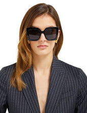 Load image into Gallery viewer, Gucci 0435S Oversized Square Sunglasses in Black
