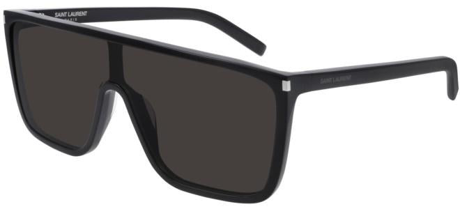 Saint Laurent Ace SL364 Flat Top Sunglasses in Black