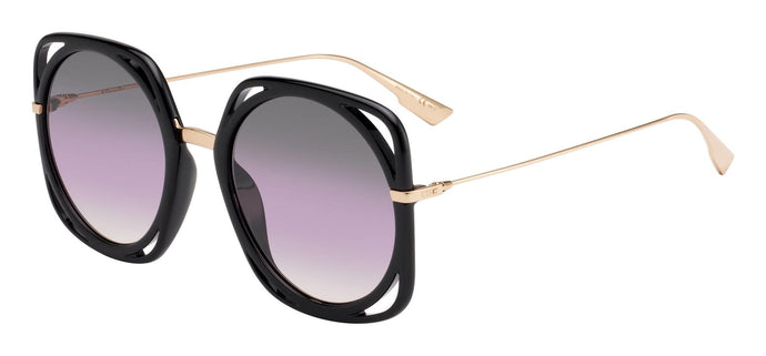 Dior Direction Square Oversized Sunglasses in Black Gradient
