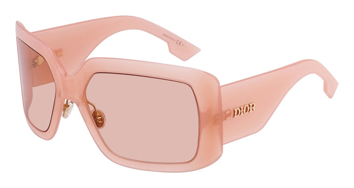 Dior SoLight2 Shield Sunglasses in Nude