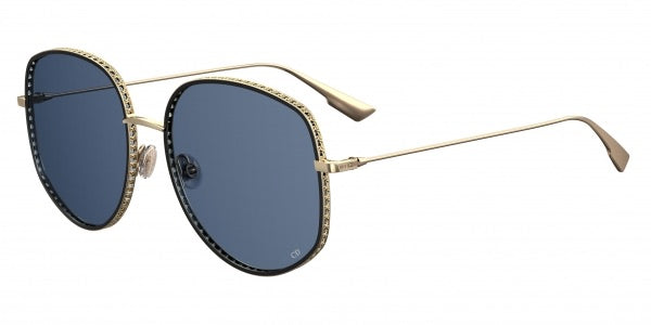Dior DiorbyDior2 Sunglasses in Gold/Blue