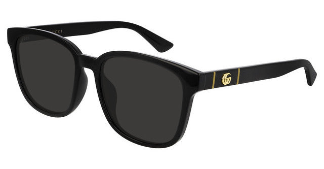 Gucci 0637SK Unisex Marmont Logo Sunglasses in Black