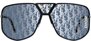 Dior Ultra Logo Mirrored Shield Sunglasses