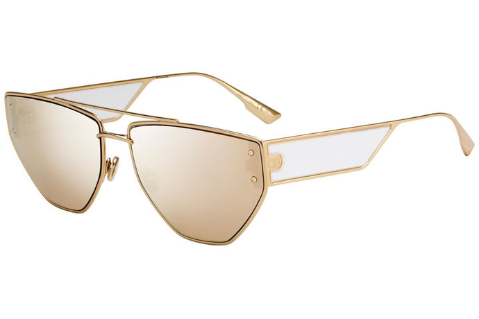 Dior Clan 2 Sunglasses in Gold Mirror