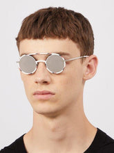 Load image into Gallery viewer, Dior Synthesis Round Sunglasses in White