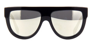 Celine CL4001IN Black Flat Top Sunglasses