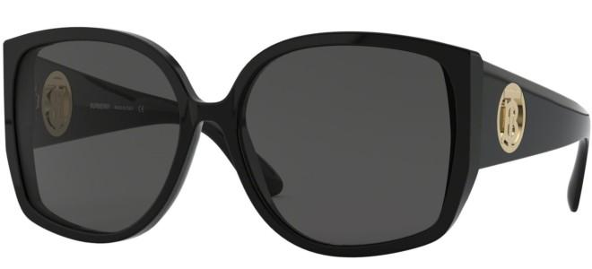 Burberry BE4290 Oversized Sunglasses in Black