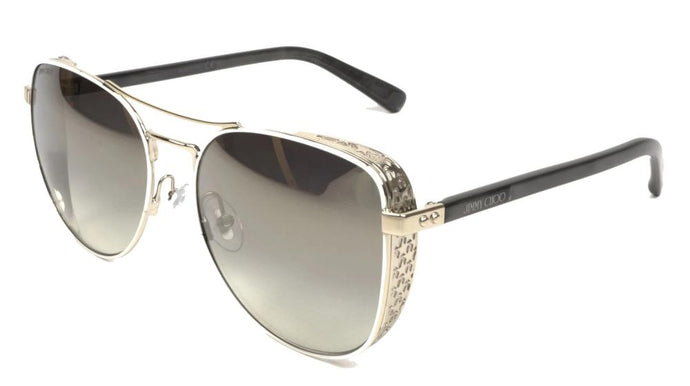 Jimmy Choo Sheena Aviator Sunglasses