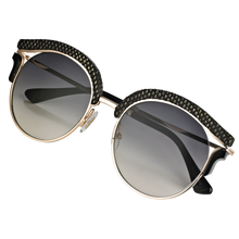 Load image into Gallery viewer, Jimmy Choo Lash Detachable Magnetic Clip On Mirrored Sunglasses