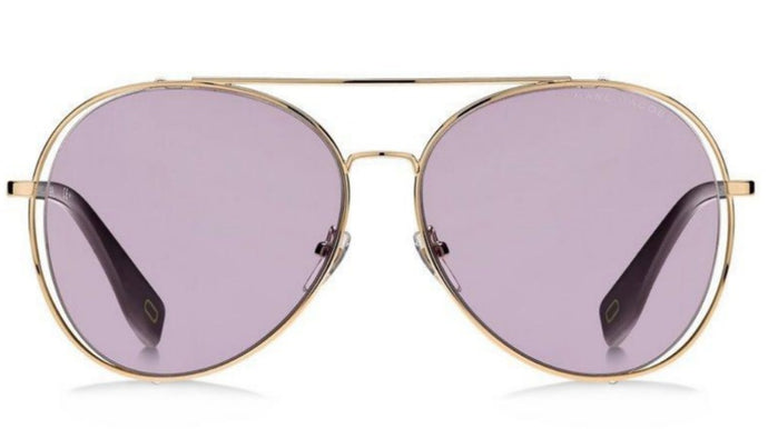 Marc Jacobs 328F/S Gold Aviator Sunglasses