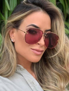 Dior Stellaire 6 Sunglasses in Copper/Pink Lens