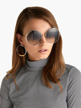 Load image into Gallery viewer, Chloe CE114S Carlina Sunglasses in Blue Gradient