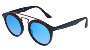 Ray Ban 4256 Gatsby Round Sunglasses in Black