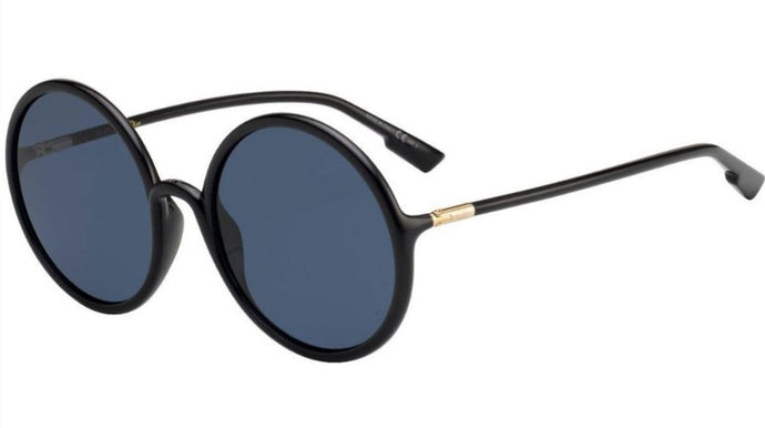 Dior SoStellaire 3 Round Sunglasses in Black