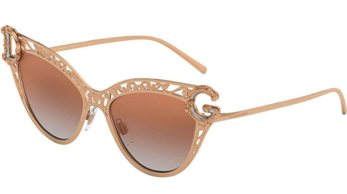 Dolce Gabbana 2239 Devotion Cat Eye Sunglasses