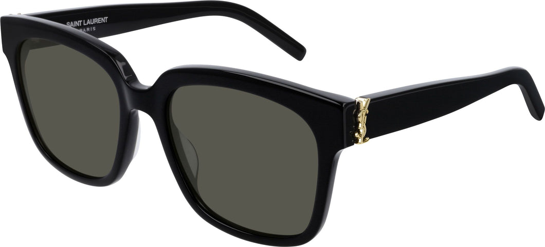 Saint Laurent SLM40/S 003 Square Sunglasses in Black
